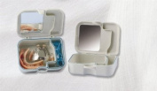 Twin Dento Box - Waterproof Denture Cleaning and Storage Case
