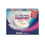 SCS Efferdent® Denture Cleanser - 240 Ct.