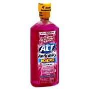 Act Kids Anticavity Fluoride Rinse for Kids, Bubble Gum 18 fl oz