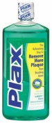 Helps loosen and detach plaque - Plax Advanced Pre-Brushing Dental Rinse, Soft Mint, 710ml