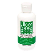 Ulcerease Ulcer Ease Anaesthetic Mouth Rinse, 6 Fl Oz