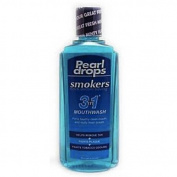 Pearl drops smokers fresh mint mouthwash 400ml