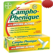 Campho-Phenique Cold Sore Treatment with Drying Action, Maximum Strength Pain Reliever and Antiseptic Gel, 5ml Tubes