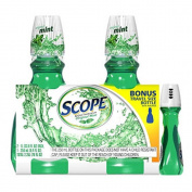 SCS Scope Mouthwash - 2 / 1l + Bonus 250ml Travel Size