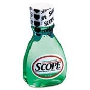 SCOPE 5112 Mint Flavour Mouthwash, 45ml Bottle