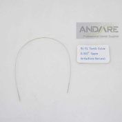 Dental Orthodontic Arch Wire Upper Natural Dental Orthodontic Tooth Colour 0cm