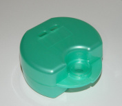 TURQUOISE - Premium Retainer Case - Denture / Night Guard - Dental / Orthodontic