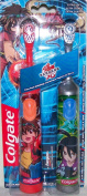 BAKUGAN Battle Brawlers Battery Operated Toothbrushes (Extra Soft) by Colgate