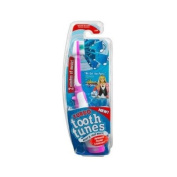 "Turbo Tooth Tunes Battery Powered Toothbrush, Hannah Montana ""We Got the Party"""