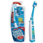 """Turbo Tooth Tunes Battery Powered Toothbrush, HSM5.1cm What time is it."""""""