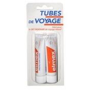Elmex Decays Prevention Toothpaste Travel Tubes 2x12ml