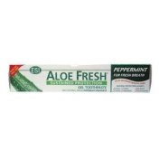 Aloe Fresh Peppermint Toothpaste - Size