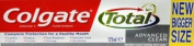 Colgate 125ml Total Advanced Clean Antibacterial and Fluoride Toothpaste