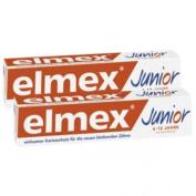 Elmex Junior Toothpaste 2 x 75ml