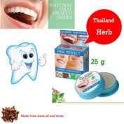Poompuksa Thai Natural Herbal Toothpaste Strong Concentrate Herbals Formula 25g Product of Thailand
