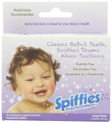 Spiffies ToothWipes TP60 Tripack, Apple and Grape Flavour, 60 Wipes
