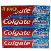 SCS Colgate Maxfresh Toothpaste, Cool Mint - 230ml - 4 Pk.