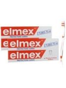 Elmex Decays Prevention Toothpaste 2 x 2 Tubes of 75ml