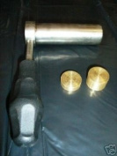 TCS CYLINDER FOR MELTING RESIN + 2 BRONZE DISCS NEW