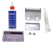 Wahl Replacement Blade Set #1045 For Home Clippers * Plus 120ml Oil