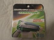 Gilete M3 Sensitive Power - 8 Cartridges