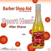 Barber Shop Aid Sport Heat After Shave 380ml