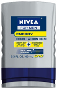 Nivea For Men Q10 Energy Double Action Balm, 100ml Bottles