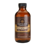 Cat o` Nine Tails Bay Rum Aftershave 120ml after shave by Captain's Choice