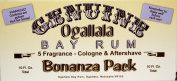 Genuine Ogallala Bay Rum Bonanza Sampler! Your chance to try all 5 of our Bay Rums. Genuine Ogallala Bay Rum Aftershave, Bay Rum Cologne, Bay Rum Limes & Peppercorns Aftershave, Sage & Cedar Aftershave and our wonderful new fragrance, Ogallala Bay Rum ..