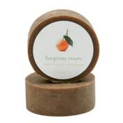 Shaving Soap - Tangerine Cream Shave Bar Soap - 100ml bar