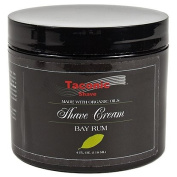 Taconic Shave BAY RUM Shaving Cream with Organic Oils - 120ml