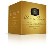 Hirsh Luxury Shaving Cream Lemon Essential Oil 240ml With Free Omega 10049 Brush