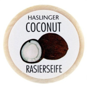Coconut Shave Soap 60g shave soap by Haslinger