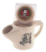 "Colonel Ichabod Conk Ceramic Mug With Soap ""Barber"" Picture On Side * #116 With Spout"