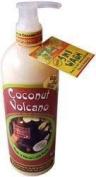 Hawaiian Bubble Shack 13cm 1 Aloe & Shea Body Wash Coconut Volcano 2 Bottles