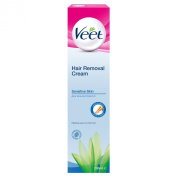 Veet Sensitive Skin Hair Removal Cream Aloe Vera & Vitamin E 200ml