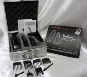 Chromatique Proline Professional Clipper & Cordless Trimmer Set with 8 Attachments - US 110 VOLT - TRANSFORMER REQUIRED FOR INTERNATIONAL USE