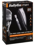 BaByliss For Men 7437TU 20-Piece Home Hair Cutting Kit