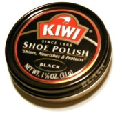 Kiwi Black Shoe Polish, 1-1/240ml