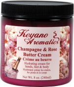 Keyano Aromatics Champagne & Rose Butter Cream 240ml