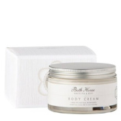 Bath House White Tea and Rose Body Cream 200ml cream