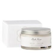 Bath House White Tea and Rose Body Cream 200ml cream