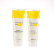 25% Beeswax Cream 240ml Squeeze Tube - Lemon - 2 Packs