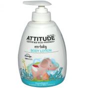 ATTITUDE, Eco-Baby, Body Lotion, Almond Milk and Vanilla, 10 fl oz