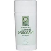 Desert Essence Tea Tree Deodorant, 70ml -- 6 per case.