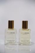 "ACTIVAROMA Argan oil Skincare ""DUO"" Bath & Body Oil-travel size 0.5oz/15ml Lavender Peppermint and Grapefruit Amber"
