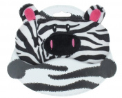Capelli New York Soft Boa Ella The Zebra Eye Mask With Satin Back