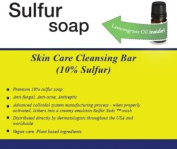 Traditional 10% Sulphur Soap in Suds Jar