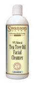 Tea Tree Oil Facial Cleanser 8 fl oz (237 ml) Liquid by Swanson Ultra