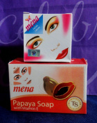 2 Piece Mena Facial Cream and Soap Whitening Set